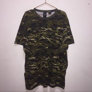 5175d0efd9f ... PUMA XO The Weeknd Camo Short Sleeve Tee ...